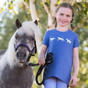 Irideon Kids Gallop Swing Tee