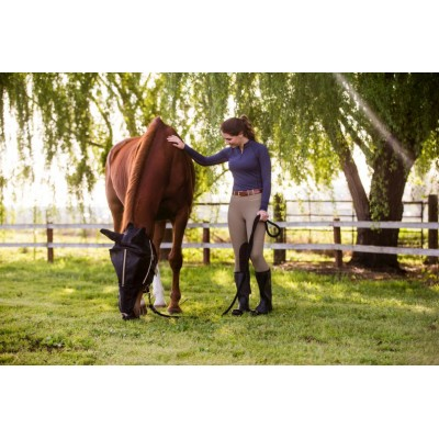 Noble Equestrian Guardsman Fly Mask with Ears
