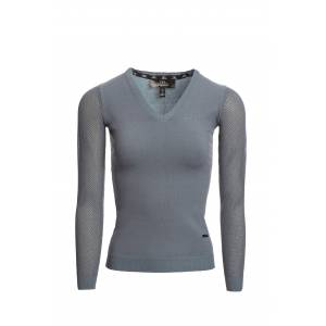 Alessandro Albanese Ladies Sweater with Perforated Sleeves