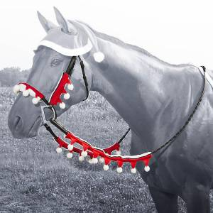 Santa Rein & Halter Cover Set from Tough-1