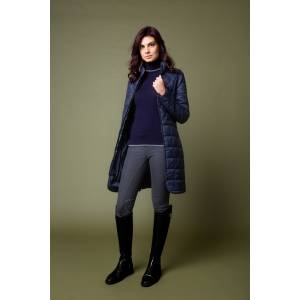 Alessandro Albanese Ladies Insula Quilted Long Coat