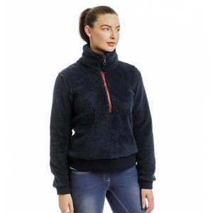 Horseware Ladies Chiara Cozy 3/4 Zip Fleece Top