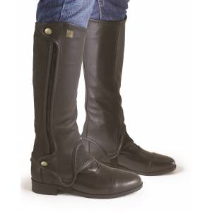 Ovation Precise Fit Full Grain Half Chaps