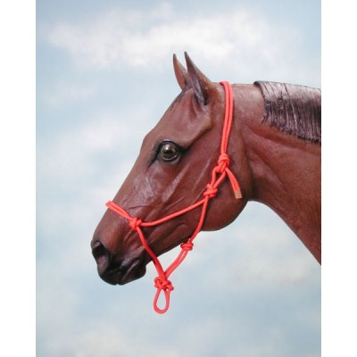 Tough-1 Two-Tone Poly Rope Halter