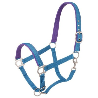 Nylon Padded Halter with Snap
