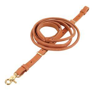 Weaver Harness Leather Round Roper and Contest Reins