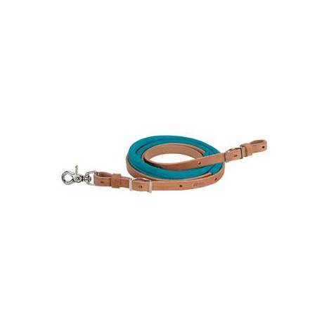 Weaver Suede Covered Barrel Reins