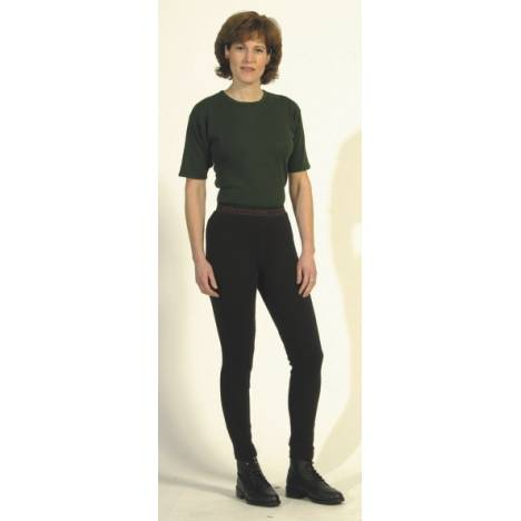 On Course Ladies Cotton Naturals Schooler Riding Tights