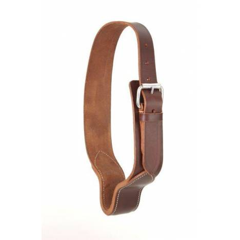 Tough-1 Leather Cribbing Collar