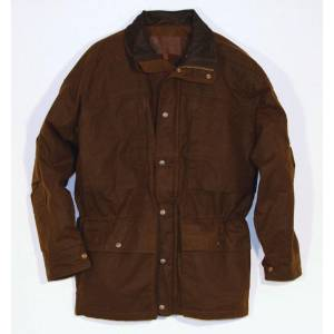 Outback Oilskin Deer Hunter Jacket- Men's