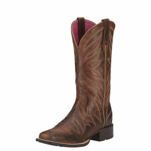 Ariat Ladies Brilliance Boots - Ladies - Sassy Brown
