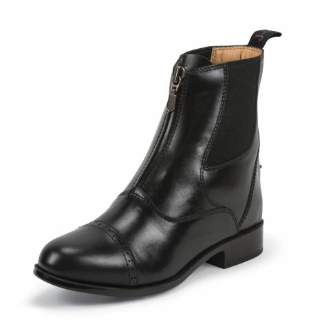 Justin Zip Paddock Boots - Ladies - Black