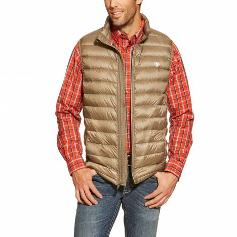Ariat Ideal Down Vest - Mens - Morel