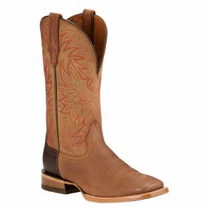 Ariat High Call Square Toe Tall Western Boots - Mens - Dusty Sand