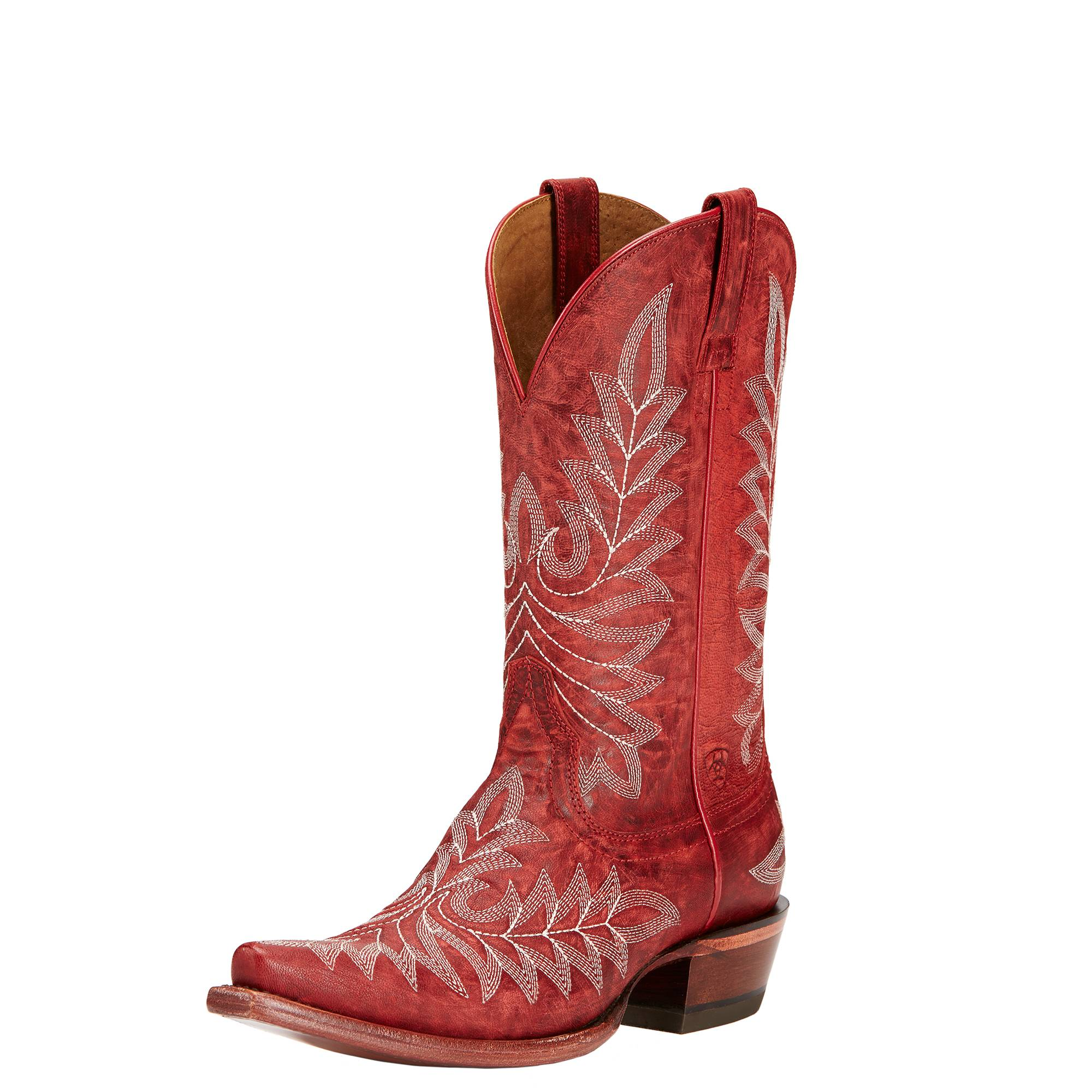 Ariat Brooklyn Boots - Ladies - Revel Red