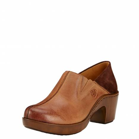 Ariat Kickback Clogs - Ladies - Burnt Sugar