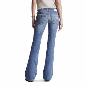 Ariat Trouser  - Ladies - White Diamond Azure