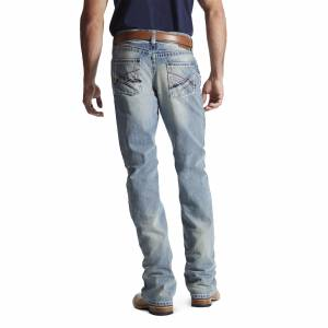 Ariat M4 Crossroad Jeans - Mens - Stonewall