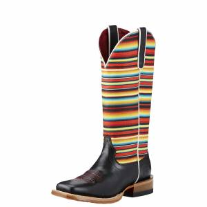 Ariat Gringa Boots  -  Ladies - Raven Black/Serape