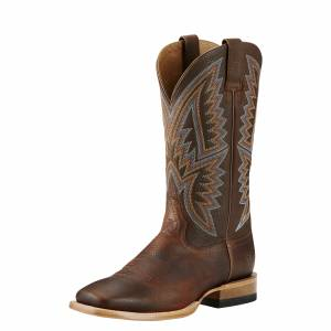 Ariat Hesston Boots  - Mens - Old Saddle Brown