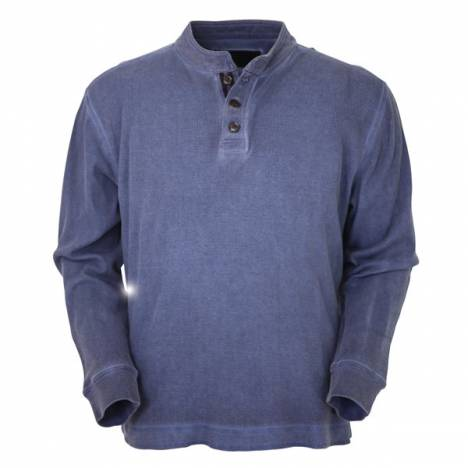 Outback Trading Thermal Henley - Mens