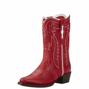 Ariat Calamity Western Boots - Kids - Red Ryder