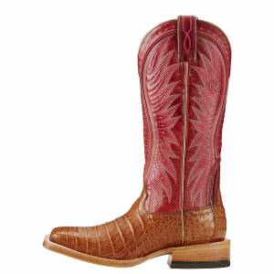 Ariat Vaquera Caiman Belly - Ladies - Oiled Tan/Blush
