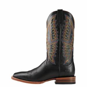 Ariat Hesston - Mens - Midnight Black/Black