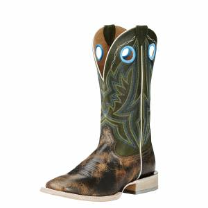 Ariat  Circuit Hazer - Mens - Antique Buckskin/Rifle Green