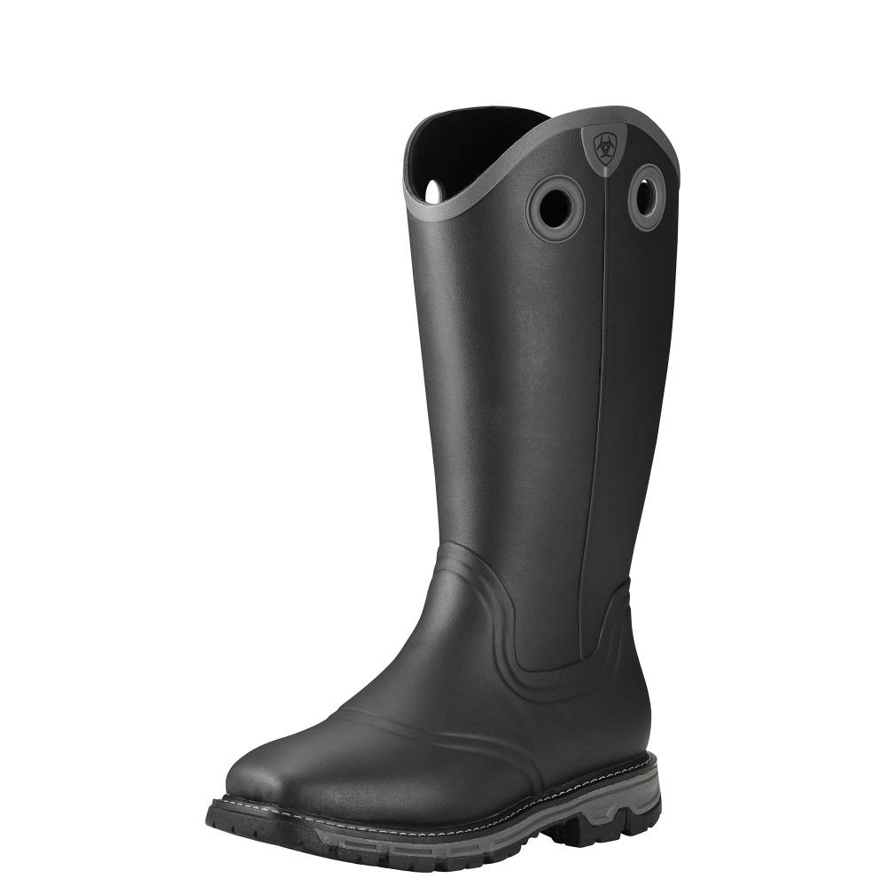 Ariat Men S Conquest Rubber Insulated Boots Black