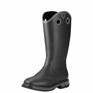 Ariat Men's Conquest Rubber Insulated Boots - Black