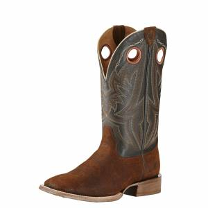 Ariat Men's Circuit Hazer Boot - Rough Brown Old Grulla