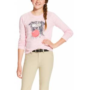 Ariat Girls Bubblegum Graphic Tee - Blossom