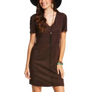 Ariat Women's Afton Dress - Ganache