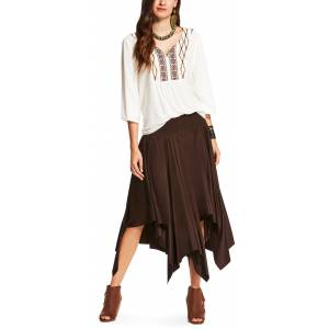 Ariat Women's Afton Skirt - Ganache