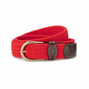 Ariat Adult One Rail Woven Belt - Flame