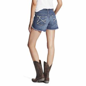 Ariat Women's Boyfriend Wheat Stitch Ella Short - Skyline