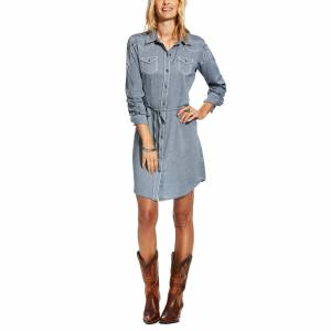 Ariat Bergen Dress - Ladies - Darkest Indigo