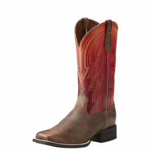 Ariat Round Up Waylon - Ladies - Rodeo Tan/Sunrise
