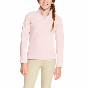 Ariat Conquest 1/4 Zip - Girls - Blossom