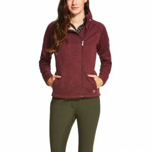 Ariat  Regency Full Zip - Ladies - Malbec