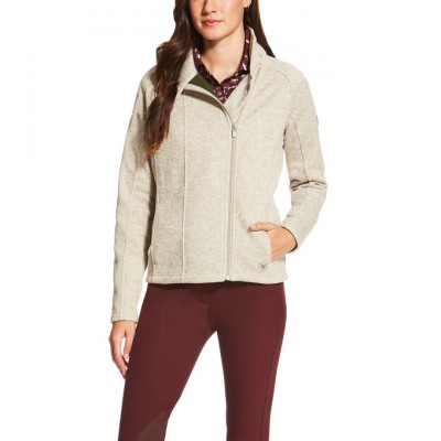 Ariat  Regency Full Zip - Ladies - Oatmeal
