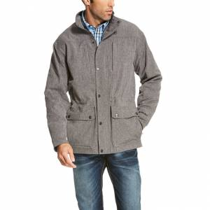 Ariat Bozeman Softshell Jacket - Mens - Charcoal Grey