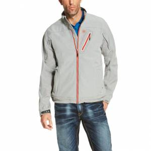 Ariat Forge Softshell Jacket - Mens - Heather Gray