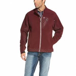 Ariat Forge Softshell Jacket - Mens - Malbec