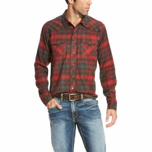Ariat Tahoe Retro Long Sleeve - Mens - Carbon