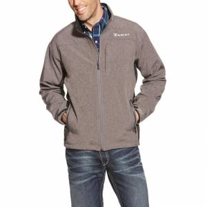 Ariat Vernon Softshell Jacket - Mens - Charcoal Heather