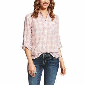 Ariat Zoey Plaid Shirt - Ladies - Zoey Plaid