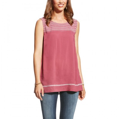 Ariat Too Busy Tunic - Ladies - Hawthorn Rose