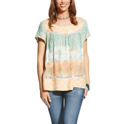 Ariat Nikki Top - Ladies - Nikki Print